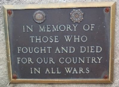 American Legion Post 449 War Memorial Marker image. Click for full size.