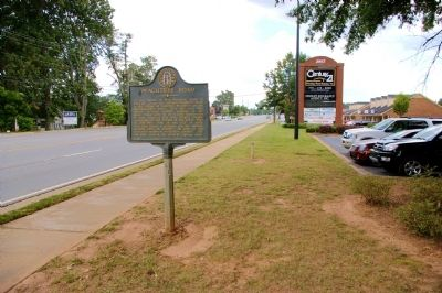 Peachtree Road Marker image. Click for full size.