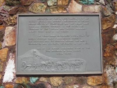 Marker on South Side of Monument image. Click for full size.