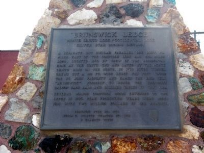Upper Marker on North Side of Monument image. Click for full size.