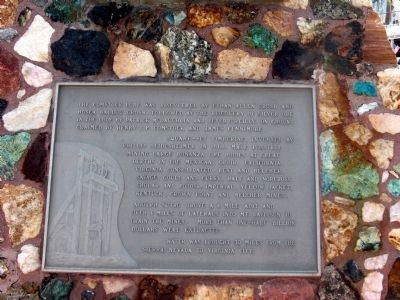 Lower Marker on North Side of Monument image. Click for full size.