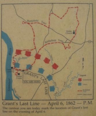 Grant's Last Line Map image. Click for full size.