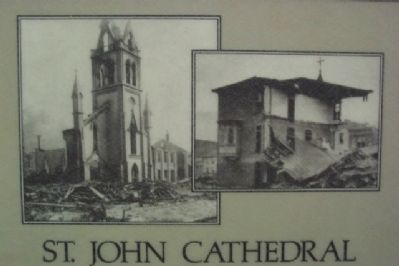St. John Cathedral Marker Photos image. Click for full size.