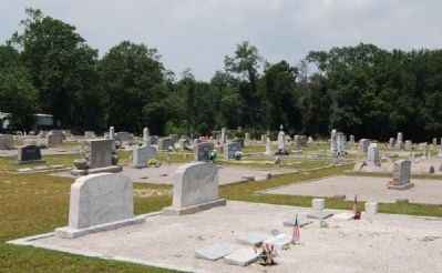 Mt. Hebron United Methodist Church Cemetery image. Click for full size.