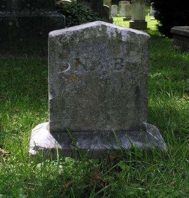 Gravesite of Col. Nathaniel Burwell image. Click for full size.