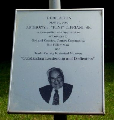"Anthony J. ""Tony"" Cipriani, Sr. Marker image. Click for full size."