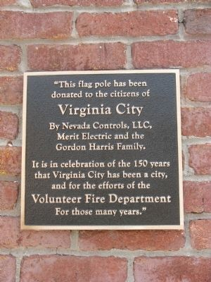 A Second Marker (Mounted on Building) image. Click for full size.