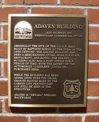 Adaven Building Marker image. Click for full size.