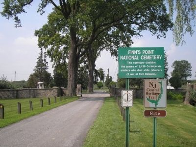 Finn's Point National Cemetery image. Click for full size.