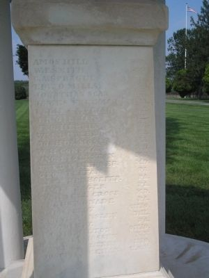 Rear of the Union Monument image. Click for full size.