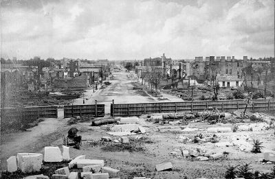Ruins of Columbia from the Capitol image. Click for full size.