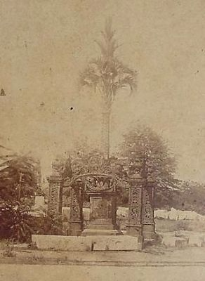 Pre-Civil war Photograph -<br>Showing South Carolina&#39;s Mexican War Monument<br>Destroyed by Sherman image. Click for full size.