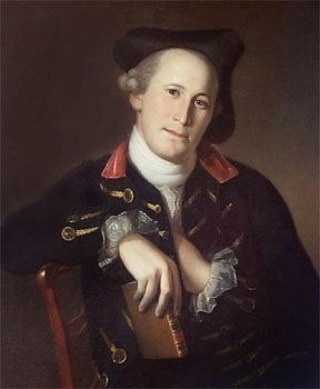 Brig. Gen. Mordecai Gist<br>1743&#8211;1792 image. Click for full size.