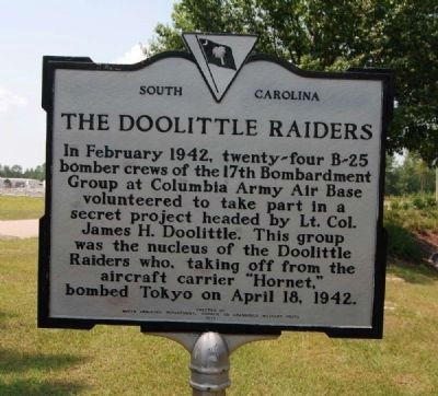The Doolittle Raiders Marker image. Click for full size.