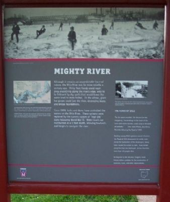 Mighty River Marker image. Click for full size.