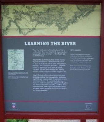 Learning the River Marker image. Click for full size.