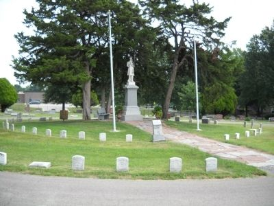 Olathe Civil War Memorial Marker image. Click for full size.