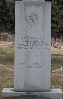 Pleasant View Veterans' Memorial Marker image. Click for full size.