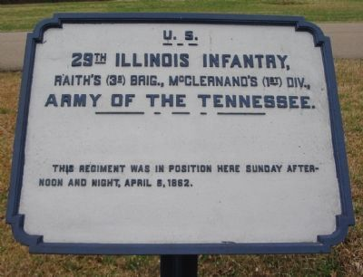 29th Illinois Infantry Tablet image. Click for full size.