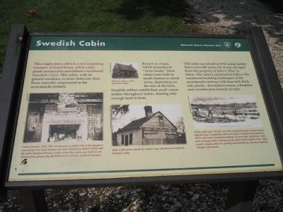 Swedish Cabin Marker image. Click for full size.
