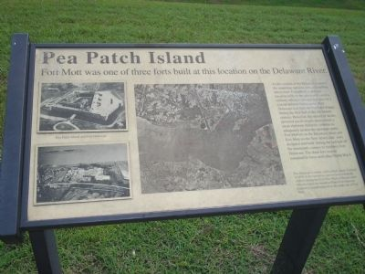 Pea Patch Island Marker image. Click for full size.