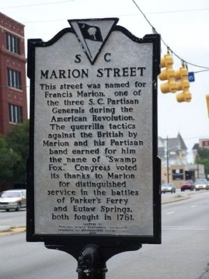 Marion Street Marker image. Click for full size.