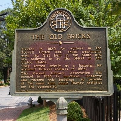 The Old Bricks Marker image. Click for full size.