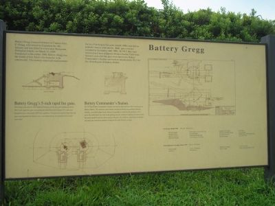 Battery Gregg Marker image. Click for full size.