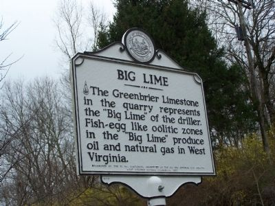 Big Lime Marker image. Click for full size.