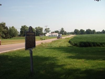 Looking North - - A Civil War Murder Marker image. Click for full size.