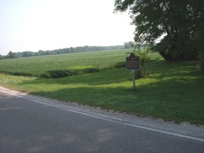 Wide - Looking North East - - A Civil War Murder Marker image. Click for full size.