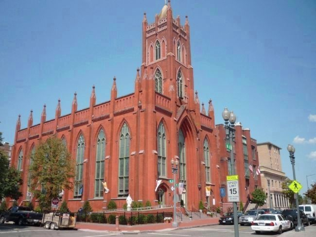 Immaculate Conception Catholic Church at 8th and N Streets image. Click for full size.