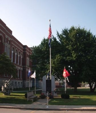 Another Memorial - N/W Corner of Courthouse Lawn image. Click for full size.