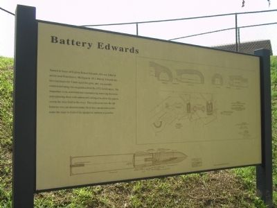 Battery Edwards Marker image. Click for full size.