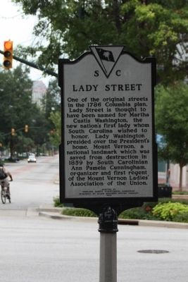 Lady Street Marker image. Click for full size.