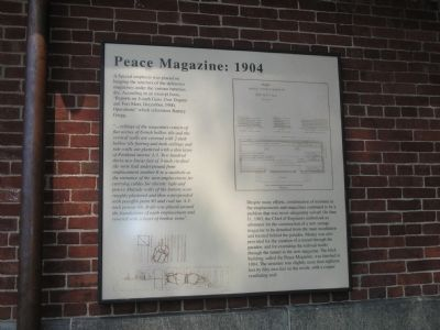 Peace Magazine:   1904 Marker image. Click for full size.