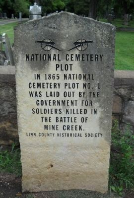 Mound City Civil War Memorial Marker image. Click for full size.