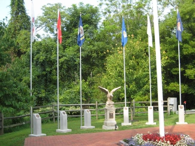 C.K. Hoffman Veterans Memorial Park image. Click for full size.