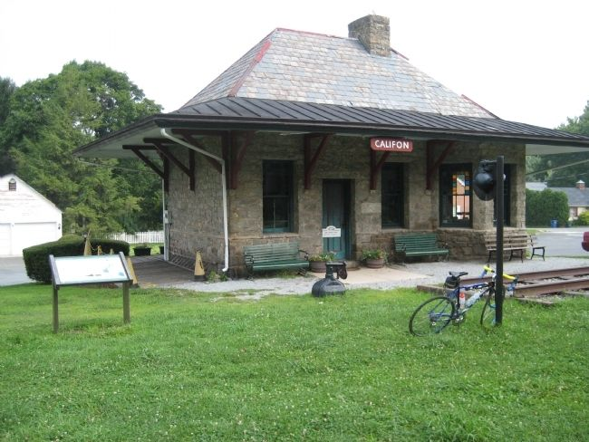 The Califon Station image. Click for full size.