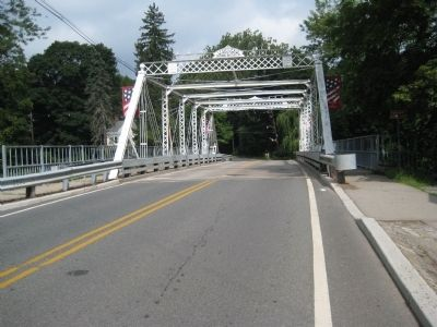 Bridge over the South Branch of the Raritan River at Califon image. Click for full size.
