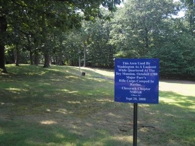 Marker in Rifle Camp Park image. Click for full size.