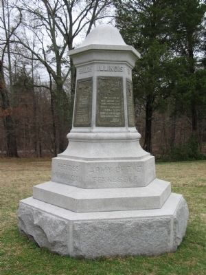 Illinois Cavalry Monument image. Click for full size.
