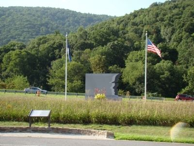 VDOT Workers' Memorial and Marker image. Click for full size.