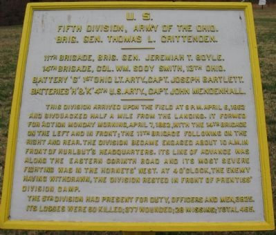 Fifth Division Tablet image. Click for full size.