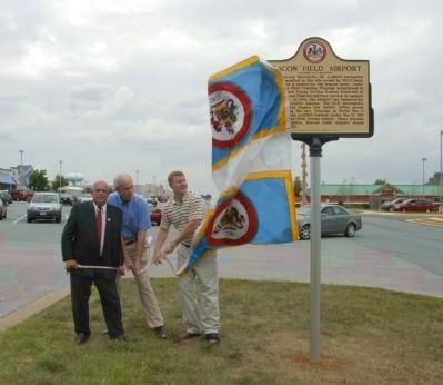 The Unveiling at the Dedication Ceremony image. Click for full size.
