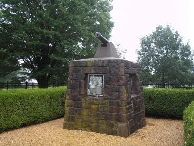 Battle of The Short Hills Monument image. Click for full size.