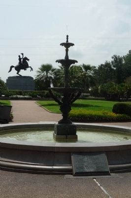 Jackson Square Fountain image. Click for full size.