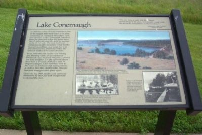 Lake Conemaugh Marker image. Click for full size.