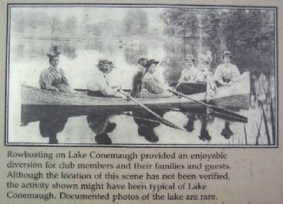 Rowboating on Lake Conemaugh image. Click for full size.