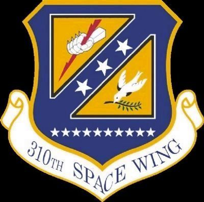 310th Space Wing Emblem image. Click for full size.